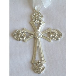 Small ivory hanging cross-0D