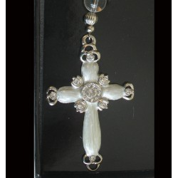 Bookmark with white cross