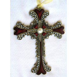 Red hanging cross-01R