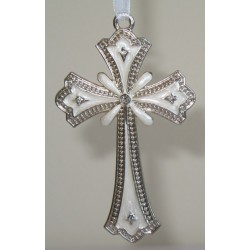 Small ivory hanging cross-7c