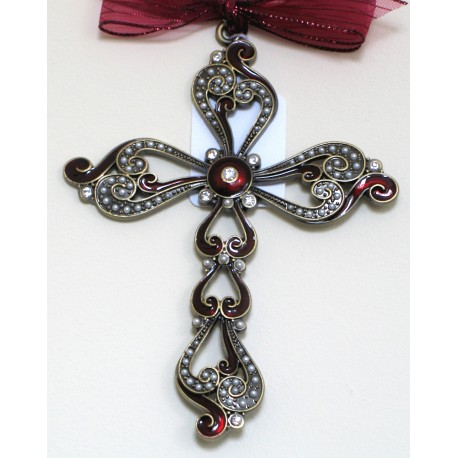 Red hanging cross-04a